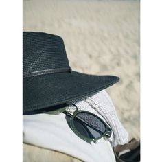 Don't forget your beach hat and sunglasses.