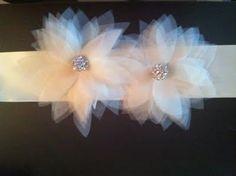 My Superficial Endeavors: DIY Bridal Sash Project