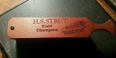 HS Strut Field Champion Wood Box Hen Gobbler Turkey Call #HuntersSpecialties Turkey Calling, Duck Calls, Hunt Games, Game Calls, Wood Boxes, The Struts, Antique Items, Champion, Auction