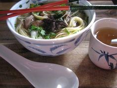 Slowcooker Heavenly Pork and Noodle Soup