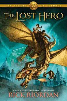The Heroes of Olympus series by Rick Riordan book 1