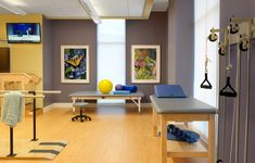 Rolling Green Village Physical Therapy Room | Senior Living Interior Design | Spellman Brady & Company