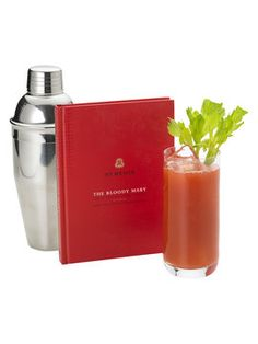 The Bloody Mary Book from St. Regis