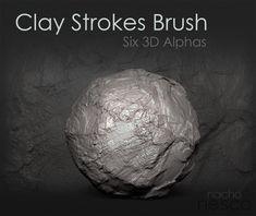 Clay Strokes Brush
