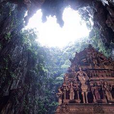 Malaysia ~ Batu Caves Looks like an Indiana Jones movie