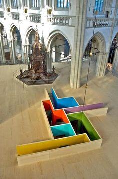 Krijn de Koning-De Koning : espace - couleurs, 104 (Cenquatre)