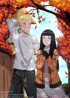 Naruto and Hinata-NaruHina♥♥ Naruto Vs Sasuke, Anime Naruto, Naruto Uzumaki Shippuden, Otaku Anime, Wallpaper Naruto Shippuden, Hinata Hyuga, Naruto Cute, Sakura And Sasuke, Aot Anime
