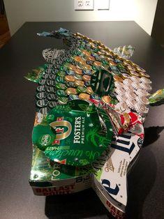 Unique male Xmas Gift Mounted on Slate backing Becks Bier Beer  Bottle Opener