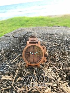 Wooden Watch by Swood Handmade Greece