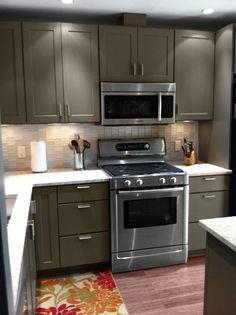 Kitchen Cabinets Review | Rockford Tea Leaf | 0114 | CliqStudios