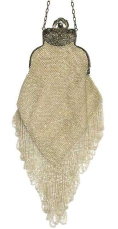 beaded purses | antique beaded knitted purse c 1920 this beautiful knit beaded purse ...