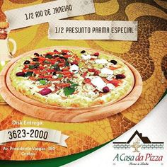Pizza todo dia sem enjoar! Delivery ou no balcão #acasadapizzamelhorderioverde #acasadapizzarv #pizzatododia #rioverde