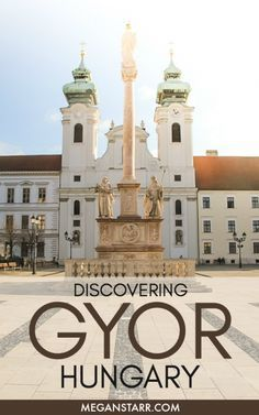 Gyor, Hungary was a place I knew nothing about but I ventured there anyway and discovered a charming and peaceful city in Central Europe. Europe Travel Tips, Travel Guides, Travel Destinations, Travel Articles, Holiday Destinations, European City Breaks, European Destination, European Travel, Hungary Travel