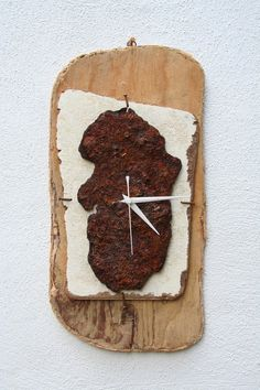 Driftwood Clock, Driftwood Wall Clock, Drift Wood Clock, Beach finds Clock. £58.00
