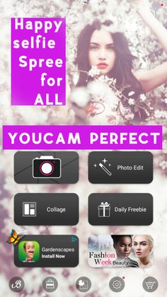 "Superb app ever, called ""YouCam Perfect"" is the best camera application that you can find in internet.You can edit your selfies with the beauty tool.From changing skin tone to shaping your face & the body. Download :https://www.downloadyoucamperfect.com/  #downloadyoucamperfect #freeyoucamperfect  #installyoucamperfect,  #updateyoucamperfect #youcam makeup #youcammakeupapp #youcamapp #youcammakeupmodels #downloadyoucam #youcamperfect #youcamfreedownload #youcamperfectmakeup"
