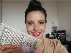 Easy, Flirty Makeup and Hair ft TheBalm's Nude'tude Palette! Beauty Nails, Beauty Makeup, Hair Makeup, The Balm Makeup, Short Hair Styles, Palette, Tutorials, Nude, Easy