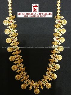 Gold Jewelry With Price Refferal: 4667527226 Gold Wedding Jewelry, Coral Jewelry, Bling Jewelry, Bridal Jewelry, Gold Chain Design, Gold Jewellery Design, Gold Models, Jewelry Patterns, Indian Jewelry