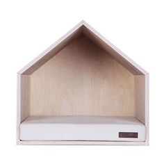 pup shop // dog house white