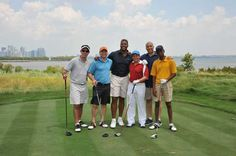 Newark Mayor, Cory Booker, and NFL on FOX analyst, Michael Strahan, headlined the recent Celebrity Golf Outing at the Liberty National Golf Club in Jersey City, NJ, to benefit the Newark Mentoring Movement (NMM), a new organization that is an emerging Mentoring Partnership in MENTOR's network.