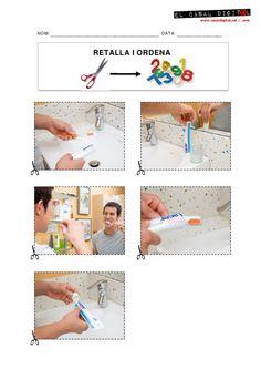 5_RECORTAR_ORDENAR (Lavar dientes) by Pili Fernández, via Slideshare