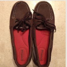 """Selling this """"Sperry topsiders slip ons dark brown"""" in my Poshmark closet! My username is: lovelythorns. #shopmycloset #poshmark #fashion #shopping #style #forsale #Sperry Top-Sider #Shoes"""