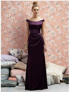 Lela Rose dress in Eggplant