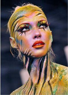 Make up ispirato ad Avatar
