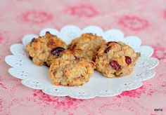 Baking Makes Things Better: Lunchbox Bakes – Banana Cranberry Cookies
