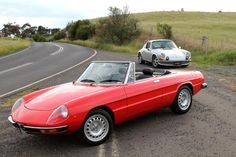 1971 Alfa Romeo 1750 Spider Veloce Maintenance of old vehicles: the material for new cogs/casters/gears/pads could be cast polyamide which I (Cast polyamide) can produce
