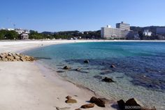 Beautiful beach in Shirahama (Wakayama Prefecture) - famous for onsen!