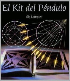 Kit que incluye todo lo necesario para ser un radiestesista experto: un péndulo y un libro de instrucciones con ejercicios, mapas y tablas de radiestesia y de astrología