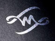 Designspiration — Dribbble - M-W by Paul Saksin