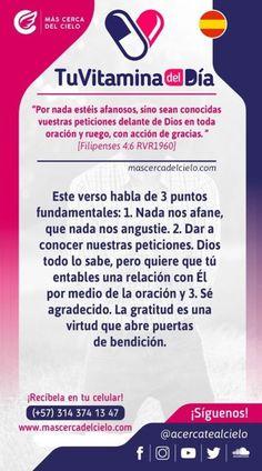 Daily Devotional, Christ, Philippians 4 6, Words Of Encouragement, Faith In God, Love Messages, Christian Messages