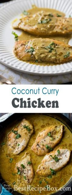 Are looking for a nice diet of chicken curry? Here are some of the best 3 chicken curry recipes you may want to eat it. Chicken Curry Coconut Milk, Thai Chicken Curry, Healthy Chicken Recipes, Cooking Recipes, Recipe Chicken, Milk Recipes, Healthy Meals, Free Recipes, Chicken Breast Curry