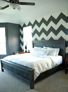 Mastering the Master Bedroom {the Handmade Bed}