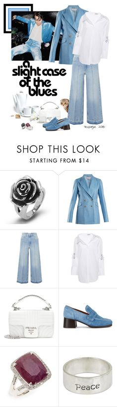 """Best Cover"" by vespagirl ❤ liked on Polyvore featuring West Coast Jewelry, Gabriela Hearst, Étoile Isabel Marant, Monse, Prada, Nicole Saldaña, John Hardy, NOVICA, harrystyles and thechain"