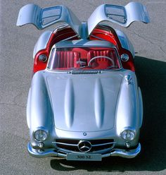 1954 Mercedes-Benz 300 SL 'the gull wing' - classic sports cars