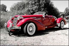 Supercar Sunday 1936 Auburn Boattail Speedster V8 car