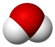 Molecule of water.