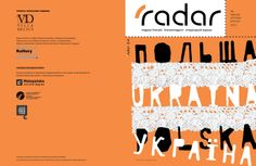 Okładka: #pracowniagrafiki #radar #8 #radarmagazine #polska #ukraina