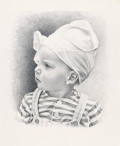 Don, pencil portrait by Simone Bingemer