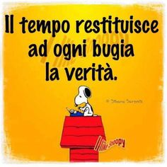 Italian Humor, Good Mood, Words Quotes, Positivity, Funny, Peanuts, Friends, Woodstock, Opportunity