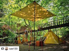 @sae130 さんphoto✨ グリーンで覆われた森の中。 絶好のロケーション✨ タープやテントに映る、枝葉の影はいつまでも眺めていたくなる絶景✨✨ *** ** #キャンプ #アウトドア #テント #タープ #カフラシル #道志の森 #森 #森林浴 #癒し #ヒーリング #ピクニック #デイキャンプ #キャンプギア #絶景 #オシャレキャンパー #おしゃれキャンプ #beautifuljapan #instajapan