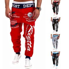 Men's Fashion Sport Joggers Pants - All In One Place With Us - 1