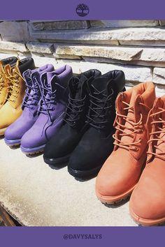 Cores novas de Yellow Boots femininas. Foto por: @davysalys enviada via Instagram com a hashtag #Timberland_br