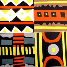 Gorgeous little African mud cloths. Nice multicultural lesson. Grade 3 http://www.artsonia.com/museum/gallery.asp?exhibit=309924
