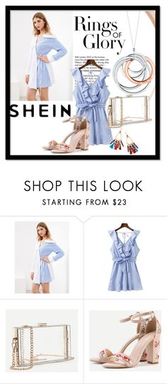 """Shein 9/10"" by zerka-749 ❤ liked on Polyvore featuring Tiffany & Co. and WithChic"