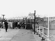 Cold War Iron Curtain -
