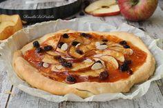 Pizza dolce alle mele