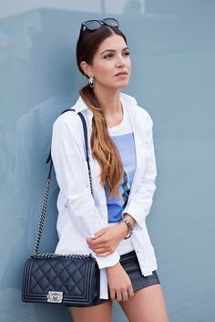 Sporty Chic for my Saturday Routine | Negin Mirsalehi